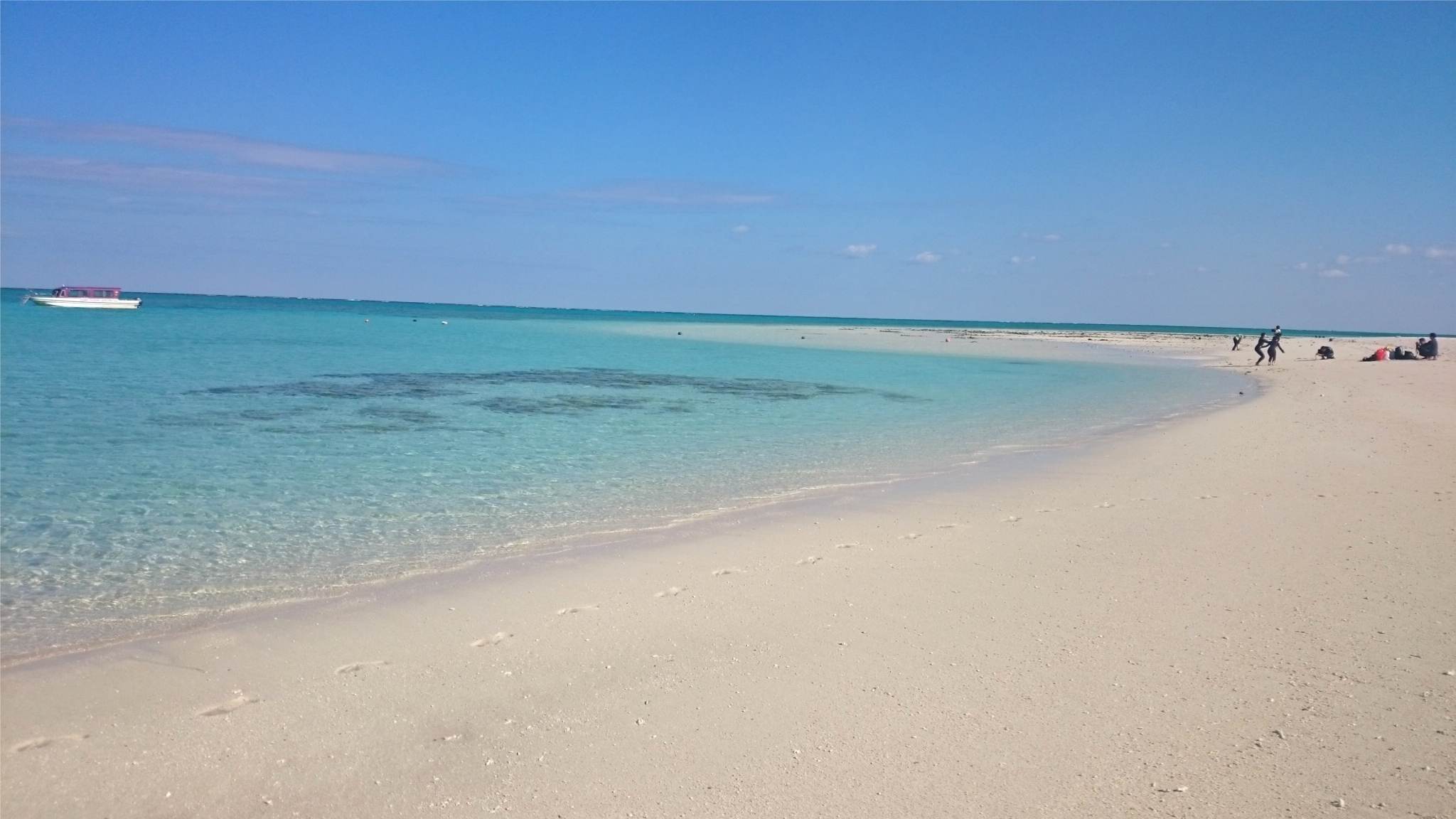 旧正月のはての浜